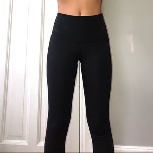 Lululemon leggings with mesh detailing
